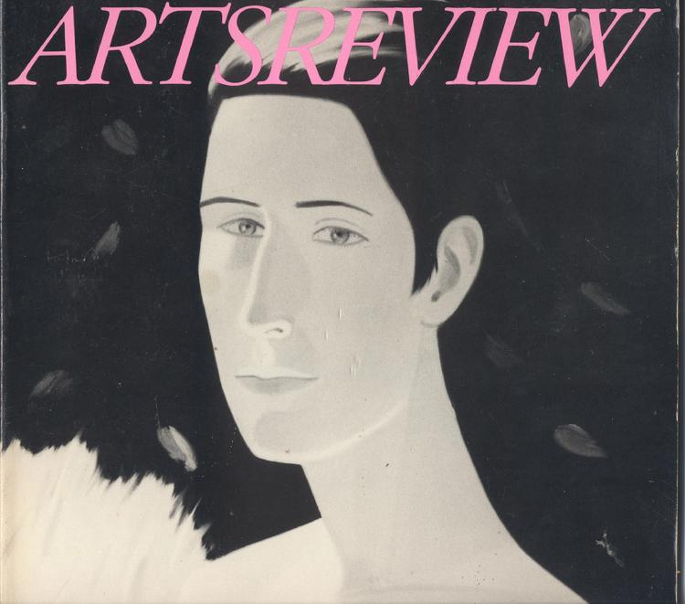 Arts Review magazine cover issue includes an interview with a young claude Buckley